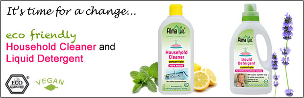 Alma Win - Organic household cleaning products