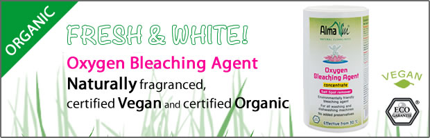 Alma Win - Organic & Natural Household Cleaners : Oxygent Bleaching Agent