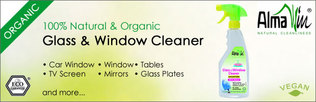 Alma Win Organic Glass & Window Cleaner Concentrate