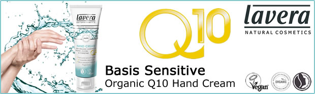 Lavera Organic & Natural Basis Sensitive Q10 Hand Cream