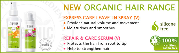 Lavera NEW Organic Hair Range