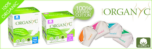 Organyc Duo Pack with 1 FREE 100% Organic Cotton Pouch