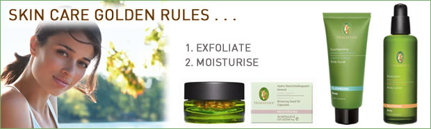 Primavera Certified Natural Skin Care - The Golden Rules