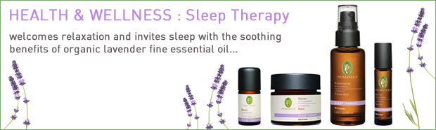 Primavera : Health & Wellness - Sleep Therapy