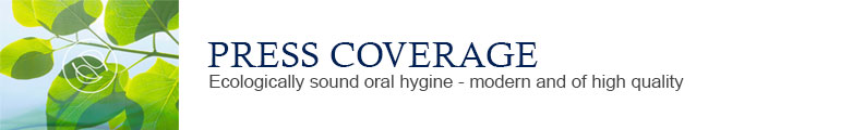 Yaweco ecologically sound oral hygiene - Press coverage