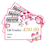 Lavera Organic & Natural Cosmetics and Skincare - Gift Voucher £50.00