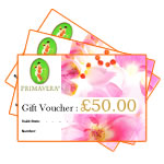 Primavera Certified Natural Skincare & Aromatherapy - Gift Voucher £50.00