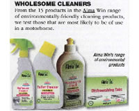 Alma Win Certified Organic Cleaning Products - Eco Life - Green Cleaning Pack