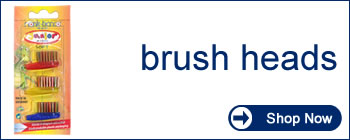 monte-bianco high quality eco friendly dental care - toothbrush heads