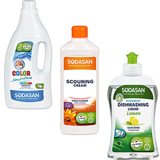 Sodasan Household Cleaning products
