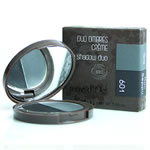 terre d'Oc - Organic and Natural make-up - Duo Creamy Eyeshadow 601 grey & black