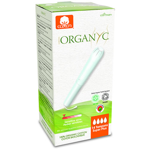Organyc Organic Cotton Tampon With Applicator Super Plus