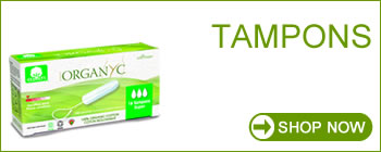 Organyc Feminine Hygiene - 100% Organic Cotton Tampons & Tampons with Applicator