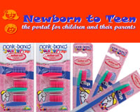 monte bianco - eco friendly toothbrush for kids