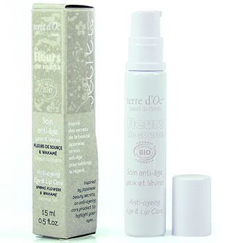 terre d'Oc natural and organic skin care Japan -  anti-polution normal skin - eye and lip care