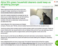 Alma Win - Natural & Organic Household Cleaners