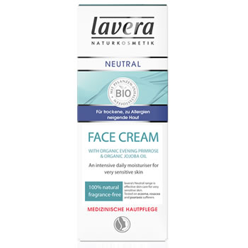 Lavera Natural & Organic Cosmetics and Skincare - Neutral Face Cream for very sensitive skin