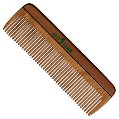 Mini Pocket Hair Comb Natural Wood Kost Kamm