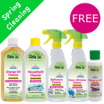 Alma Win Certified Organic Household Cleaning Products - Spring Cleaning Pack
