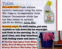 Alma Win Certified Organic Household Cleaner - Toilet Cleaner Concentrated