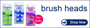monte-bianco - Environmentally Friendly Dental Care for Adult and Children - Toothbrush heads