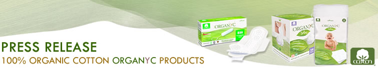 Organyc - 100% Organic Cotton Feminine Care and Beauty Cotton wool, pads, buds and balls