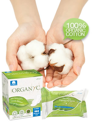 Organyc - 100% Organic Cotton Feminine Care and Organic Cotton Wool