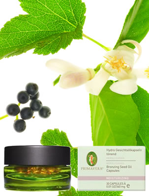 Primavera - Certified Natural Skin Care and Aromatherapy - Organic Bronzing Seed Oil - Press Release