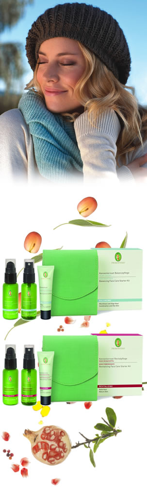 Primavera Organic and Natural Skin Care - Organic Face Care Set