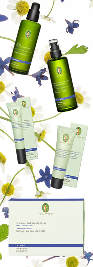 Primavera Life - Certified Natural Ski Care and Aromatherapy - New Calming Face Care for Sensitive S