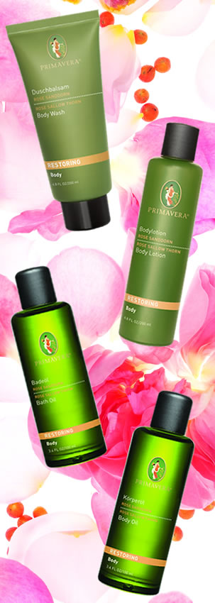 Primavera natural skin care and aromatherapy - smelling of roses this valentine's day