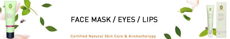 Primavera Life - Certified Natural Skin and Aromatherapy - Organic Face Mask, Eye Care and Lips