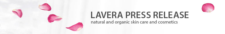 Lavera natural and organic cosmetics - Organic Skin Care Press Release