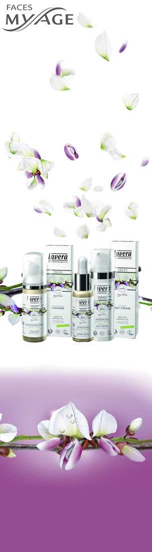 Lavera Organic & Natural Cosmetics and Skin Care - My Age the ultimate nourishment for dry and matur