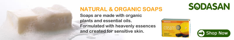 Sodasan - Certified Organic & Natural Soaps for sensitive skin