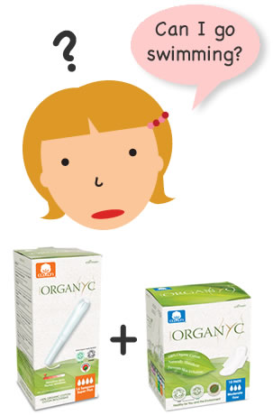 Organyc Facts & Myths - I can't go swimming during my periods?