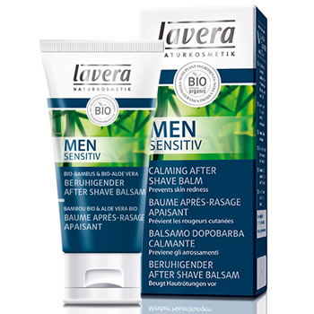 Lavera Organic & Natural Cosmetics and Skin Care - Men Sensitive Calming After Shave Balm