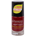 Benecos Natural Nail Polish Happy Nails Cherry Red