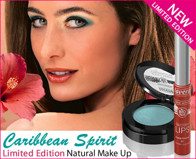 lavera organic & natural cosmetics and skincare - new limited edition make up