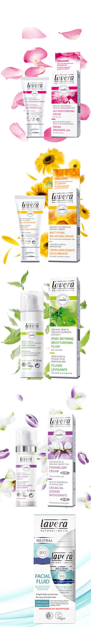 Lavera Organic & Natural Cosmetics and Skin Care - What is my skin type?