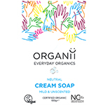 Organii Fragrance Free Soap Organic Cream Soap Natural Soap