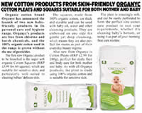 Organyc 100% Organic Cotton Beauty Product for Baby and Mum