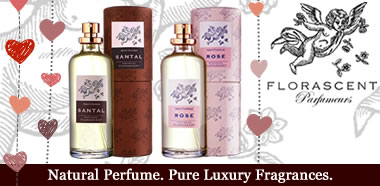 Florascent Organic & Natural Perfume - Be my valentine - Perfume for Men & Women