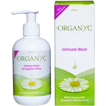 Organyc Intimate Wash detail