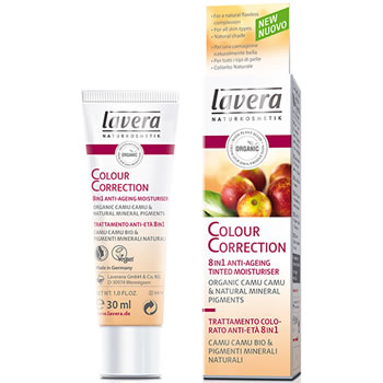 Lavera Organic & Natural Make Up - Colour Correction 8 in 1 Anti-Ageing Tinted Moisturiser