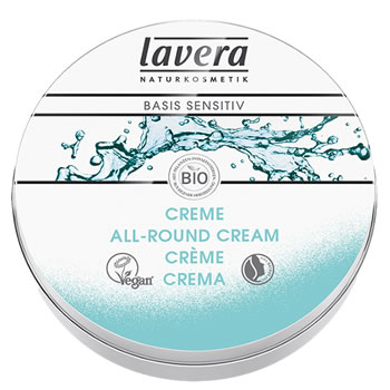 Lavera Organic & Natural Skin Care - Basis Sensitive Organic All-Round Cream mini