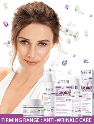 Lavera Organic & Natural Skin Care - Firming Range Anti-Wrinkle Face Care - Anti-Aging