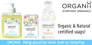 Organii Organic and natural soap