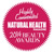 Natural Health Beauty Award 2014 Highly Commended