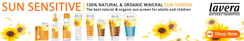 Lavera Organic & Natural Skin Care - New Sun Care for whole family